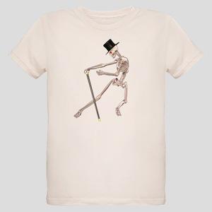 The Dancing Skeleton Organic Kids T-Shirt