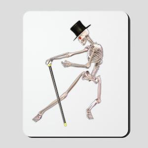 The Dancing Skeleton Mousepad