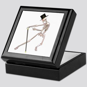The Dancing Skeleton Keepsake Box