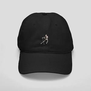 The Dancing Skeleton Black Cap