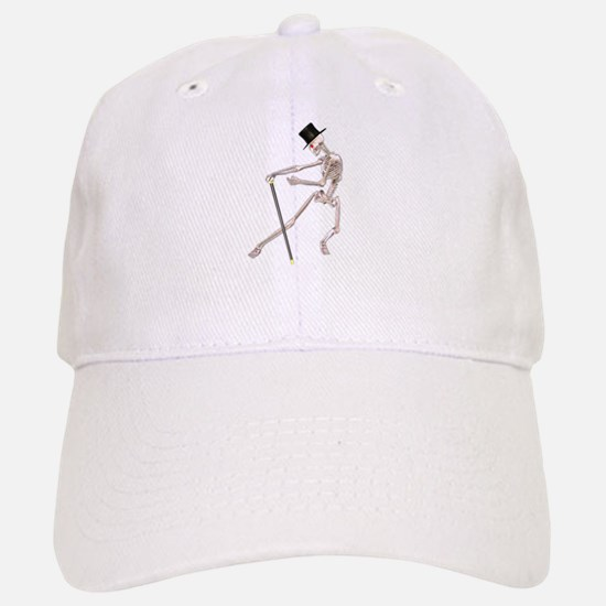 The Dancing Skeleton Baseball Baseball Cap