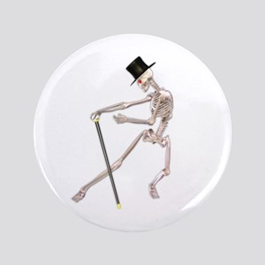 """The Dancing Skeleton 3.5"""" Button"""