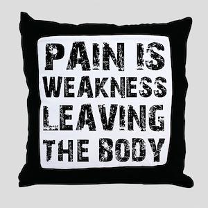 Cool fitness design Throw Pillow