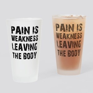 Cool fitness design Drinking Glass