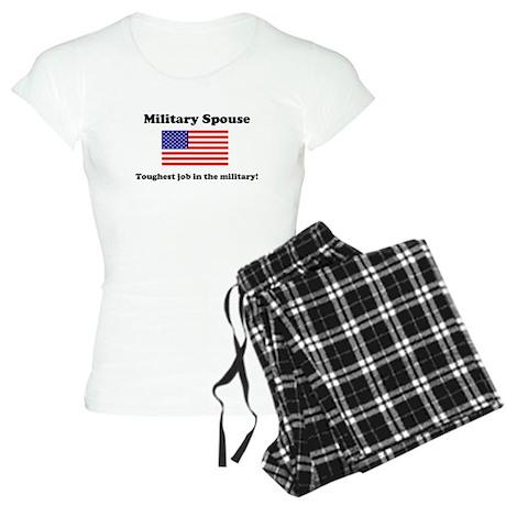 Miitary Spouse Women's Light Pajamas