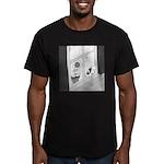 Summer Love (no text) Men's Fitted T-Shirt (dark)