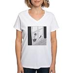 Summer Love (no text) Women's V-Neck T-Shirt