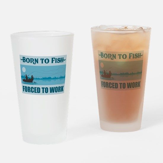 Fishing Drinking Glass