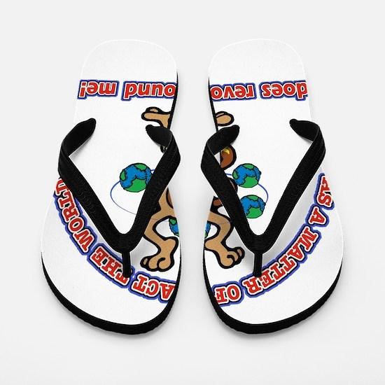 Cool baby kids design Flip Flops