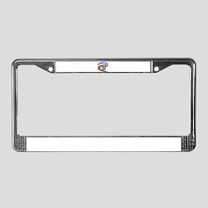 Purrwert License Plate Frame