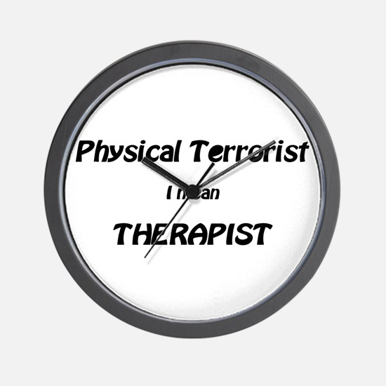 Unique Physical therapist Wall Clock