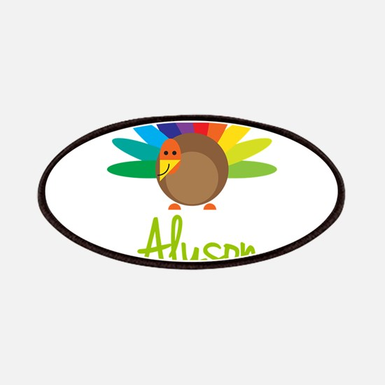 Alyson the Turkey Patches