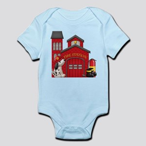 Fireman Infant Bodysuit