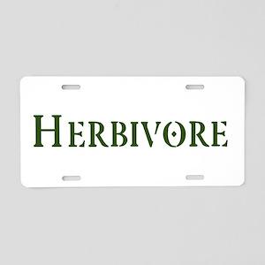 Herbivore Aluminum License Plate