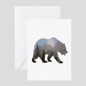WILDERNESS WANDERER Greeting Cards