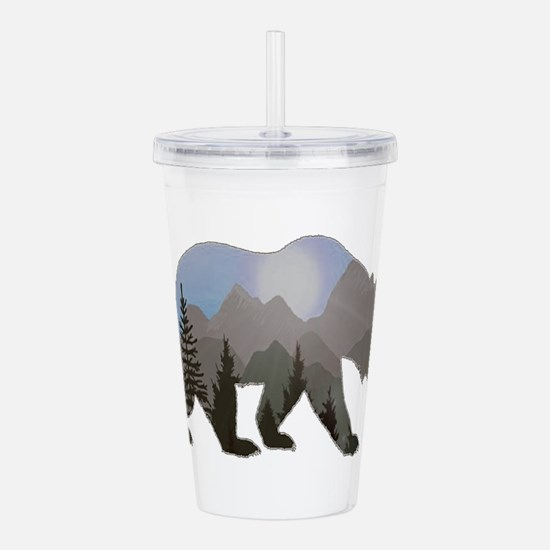 WILDERNESS WANDERER Acrylic Double-wall Tumbler