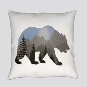WILDERNESS WANDERER Everyday Pillow