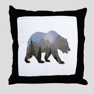 WILDERNESS WANDERER Throw Pillow