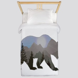 WILDERNESS WANDERER Twin Duvet Cover