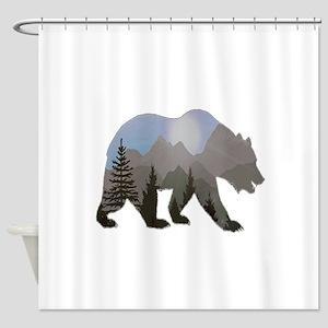 WILDERNESS WANDERER Shower Curtain