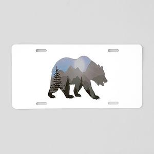 WILDERNESS WANDERER Aluminum License Plate