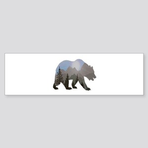 WILDERNESS WANDERER Bumper Sticker