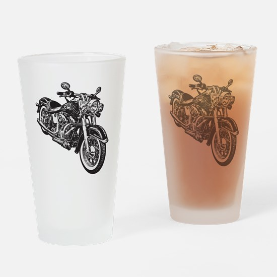 Moto! Drinking Glass