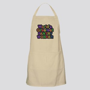 Worlds Greatest PANTRY WORKER Light Apron
