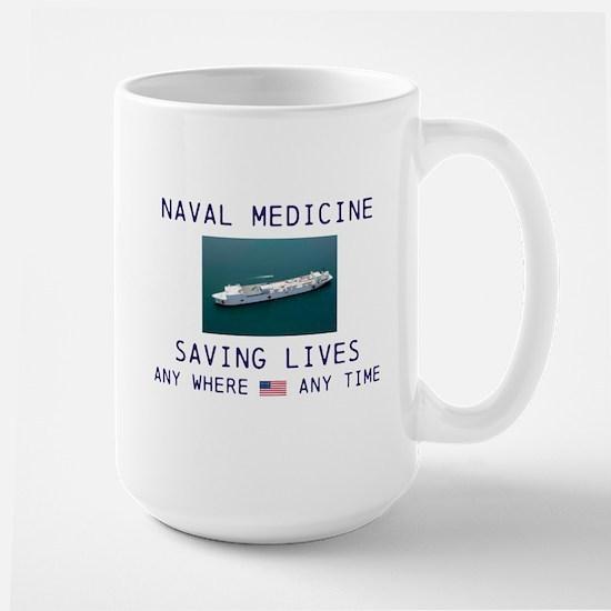 Navy Doctors Large Mug