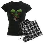 The Dryad Clump Women's Dark Pajamas