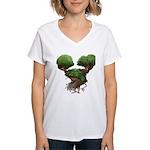 The Dryad Clump Women's V-Neck T-Shirt