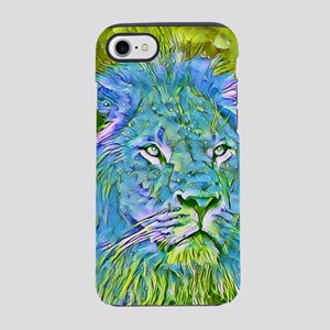 Funky lion iPhone 7 Tough Case
