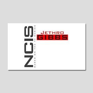 NCIS Jethro Gibbs Car Magnet 20 x 12