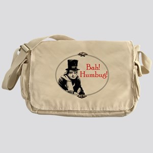 Funny Scrooge Quote Messenger Bag