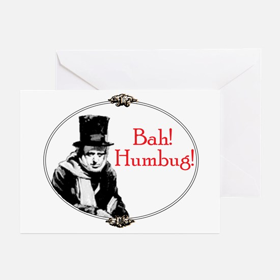 Funny Scrooge Quote Greeting Cards (Pk of 10)