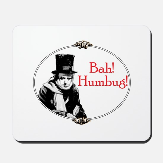 Funny Scrooge Quote Mousepad