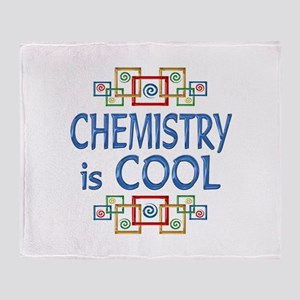 Chemistry is Cool Throw Blanket