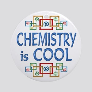 Chemistry is Cool Ornament (Round)