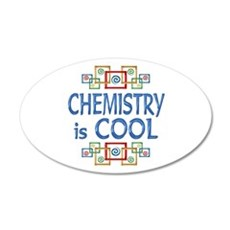 Chemistry is Cool 22x14 Oval Wall Peel