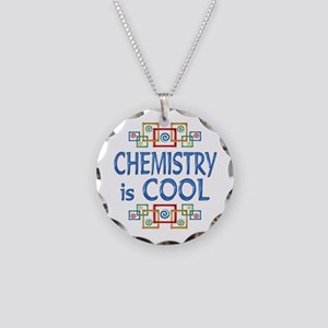 Chemistry is Cool Necklace Circle Charm