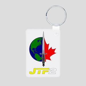 Joint Task Force 2 - Silver Aluminum Photo Keychai