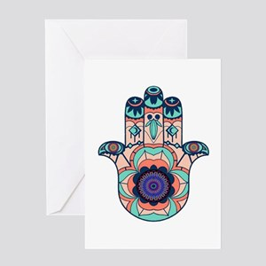 FINDING HARMONY Greeting Cards