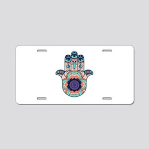 FINDING HARMONY Aluminum License Plate