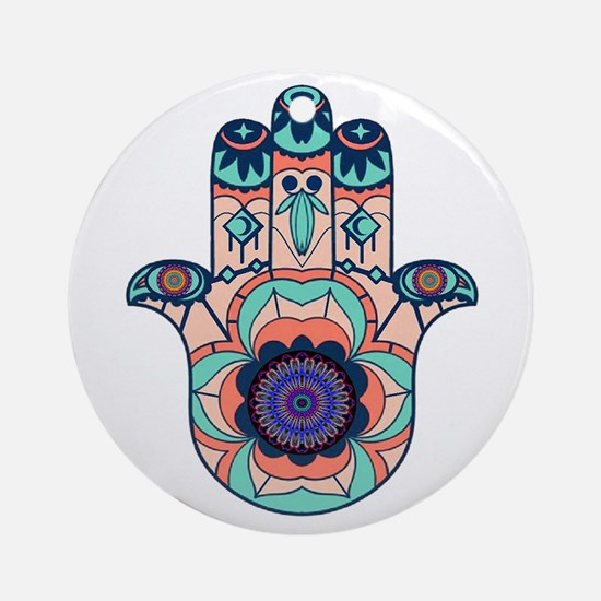FINDING HARMONY Round Ornament
