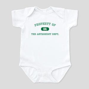 Astronomy Dept. Infant Creeper
