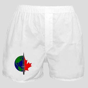 Joint Task Force 2 logo -Blk Boxer Shorts