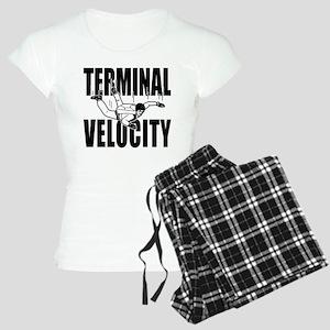 Terminal Velocity Skydiving Women's Light Pajamas