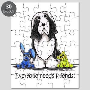 Beardie Needs Friends Puzzle