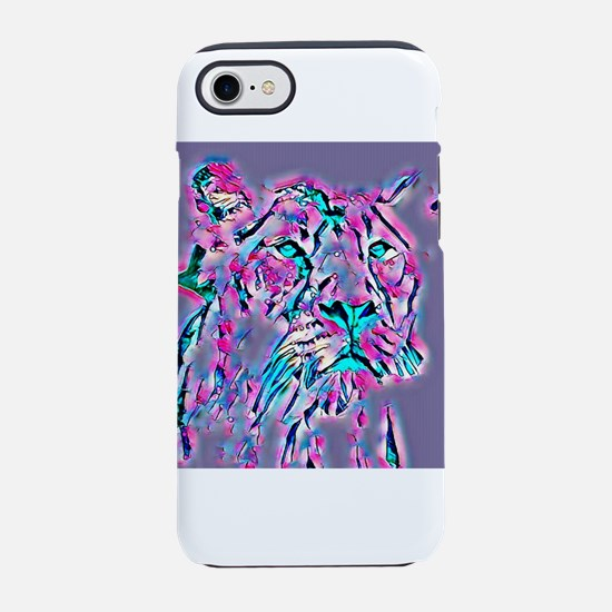 Funky lioness iPhone 7 Tough Case