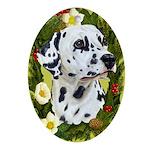 Dalmatian Ornament (Oval)